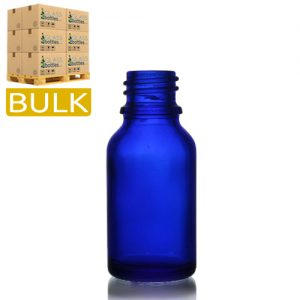 15ml Blue Glass Dropper Bottles