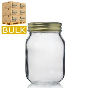 500ml Glass Mason Jars