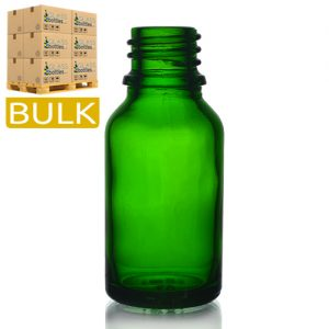 15ml Green Glass Dropper Bottles