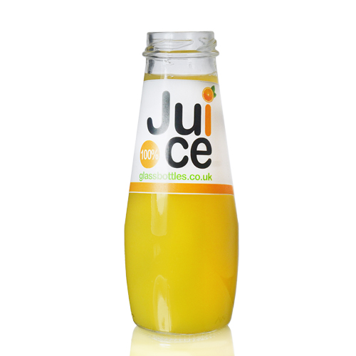 250ml Farmers Juice Bottle w Label