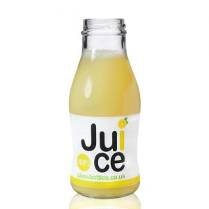 250ml Queens Juice Bottle w Label