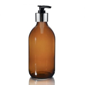 300ml Amber Bottle lotion