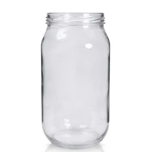 1015ml Clear Glass Jar