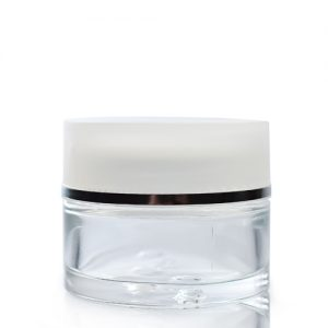 30ml Glass Cosmetic Jar With Lid
