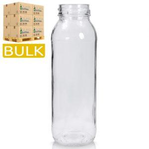 250ml Tall Glass Juice Bottle (Bulk)